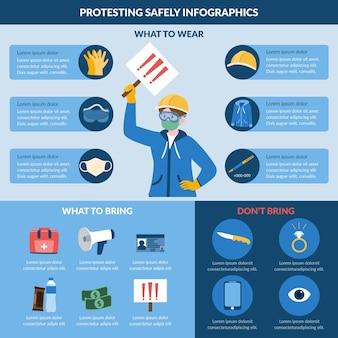 Protestando com segurança