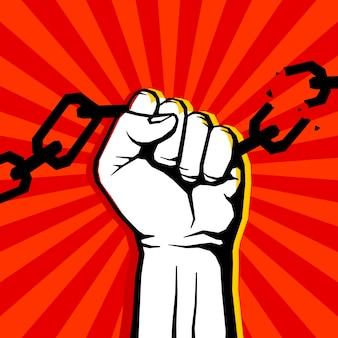 Protesto em cadeia de quebra