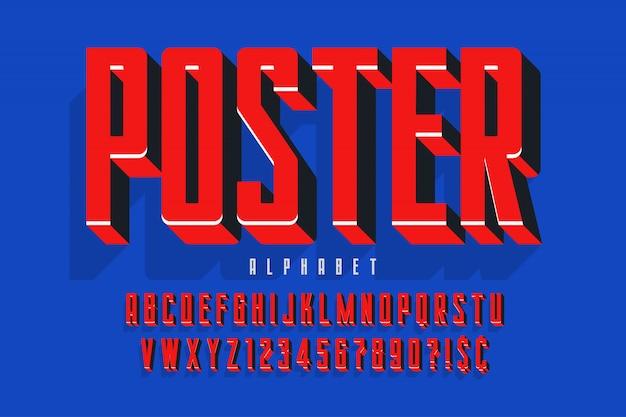 Protesto exibir design de fonte, alfabeto, conjunto de caracteres