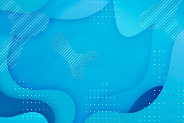 Protetor de tela azul clássico abstrato