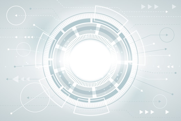Protetor de tela de tecnologia futurista