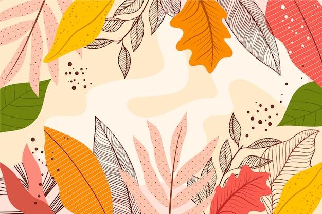 Protetor de tela floral abstrato