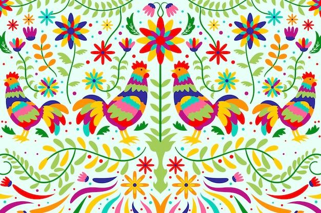 Protetor de tela floral mexicano