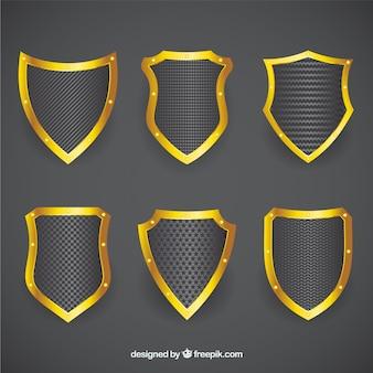 Protetores dourados