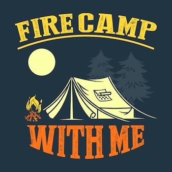 Provérbios e citações do acampamento