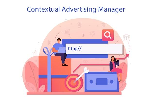 Publicidade contextual e conceito de segmentação