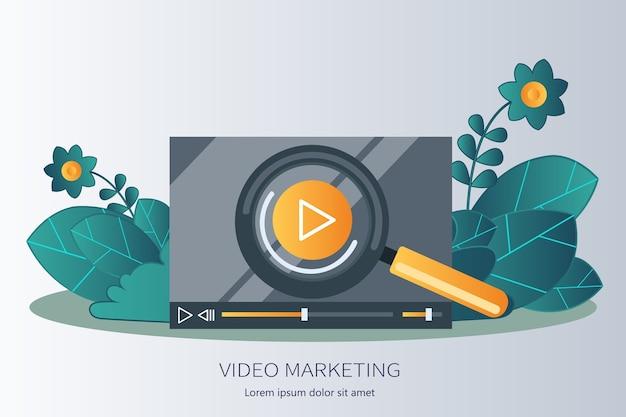 Publicidade de marketing de vídeo viral