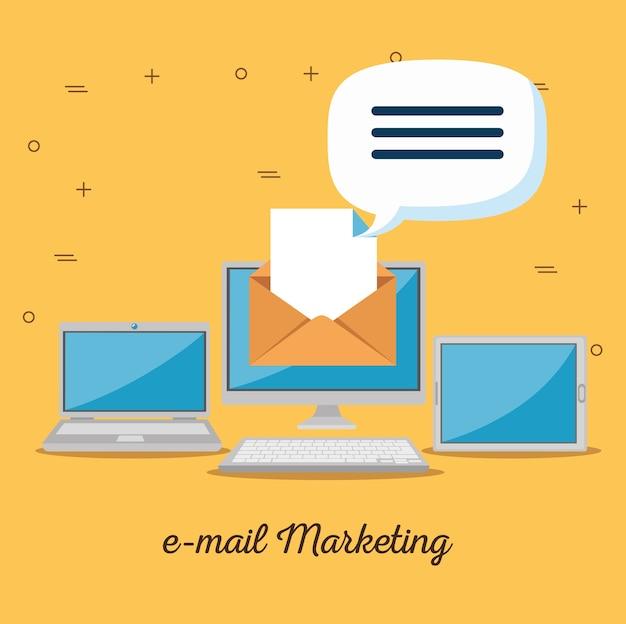 Publicidade na internet do marketing por e-mail