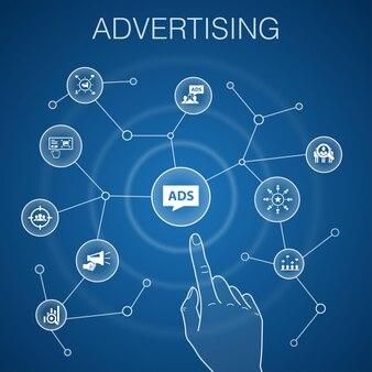 Público-alvo infográfico modelo de linha design consumidor demografia nicho ícones de promoção