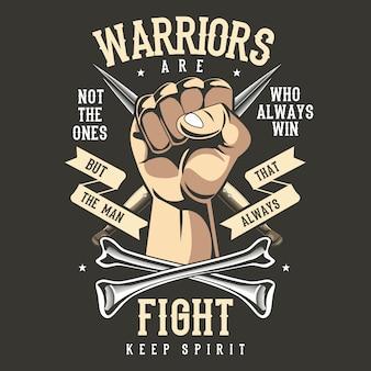 Punho de guerreiros