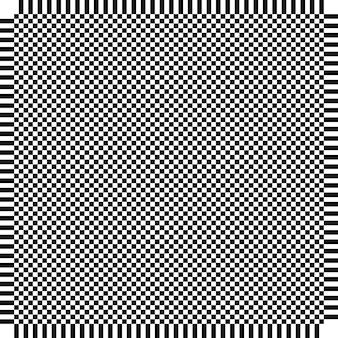 Quadrado de xadrez de xadrez de vetor abstrato