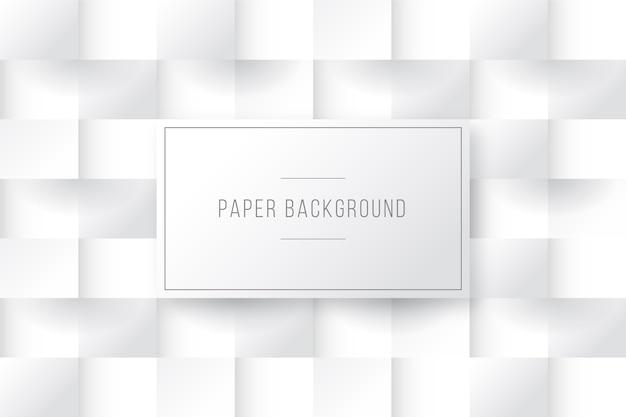 Quadrados de fundo em estilo de papel 3d