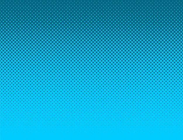 Quadrinhos estilo céu azul padrão gradiente pano de fundo