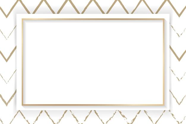 Quadro abstrato em branco