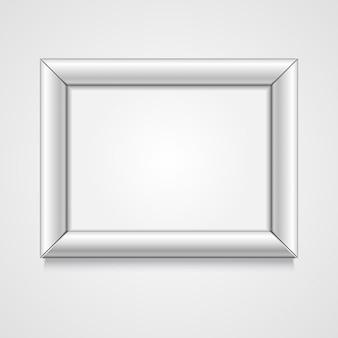 Quadro branco com ilustração de espaço vazio