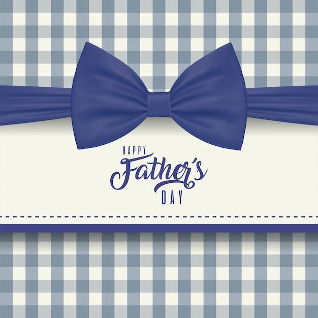 Quadro com gravata borboleta do dia dos pais