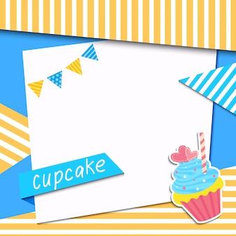 Quadro cupcake