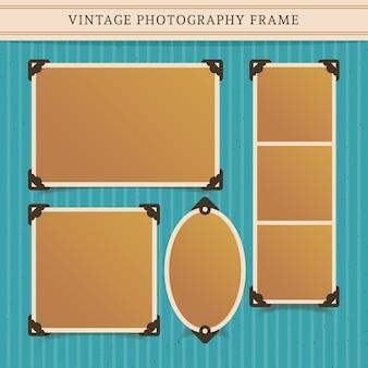 Quadro da fotografia do vintage