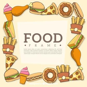 Quadro de alimentos