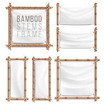 Quadro de bambu