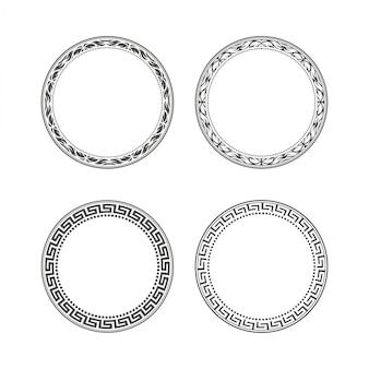 Quadro de círculo para logotipo vintage