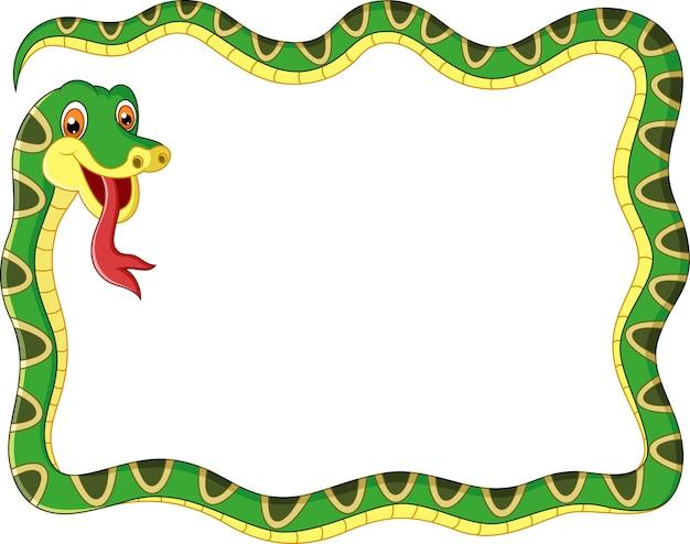 Quadro de cobra de ilustração