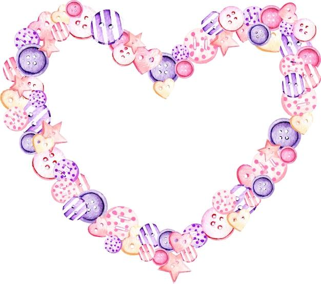 Quadro de coração