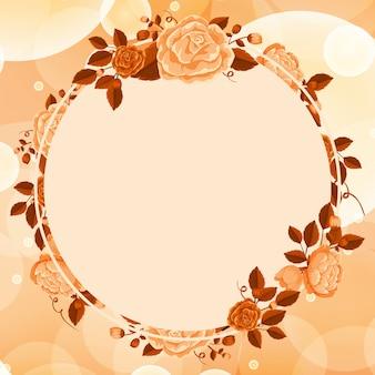Quadro de flor de laranjeira