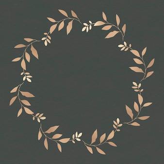 Quadro de folhas em branco