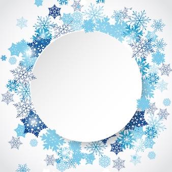 Quadro de inverno vector