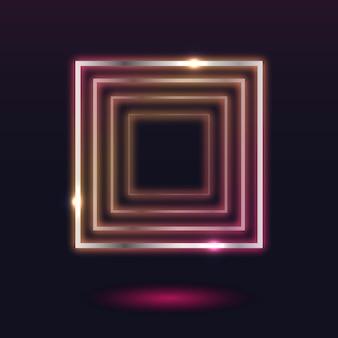 Quadro de luz de néon