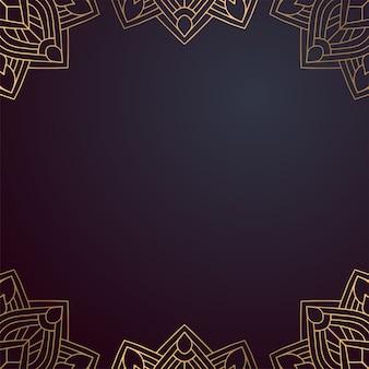 Quadro de mandala indiana