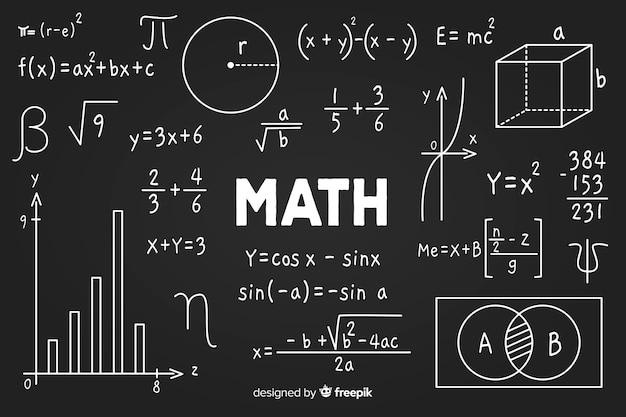 Quadro de matemática
