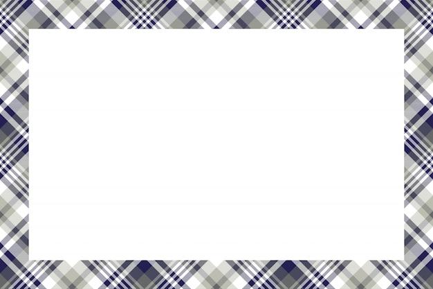 Quadro de padrão sem emenda de tartan escócia