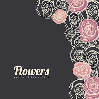 Quadro de rosas