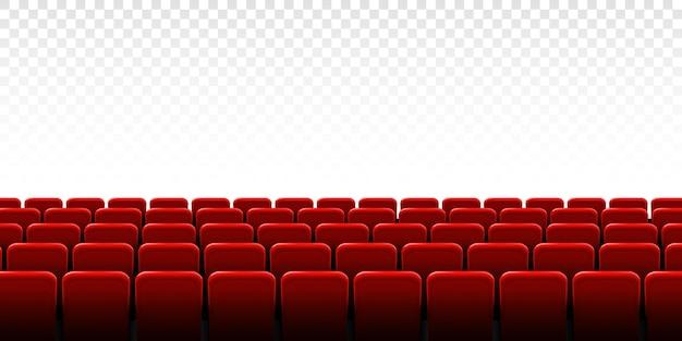 Quadro de tela de cinema de cinema e interior do teatro.