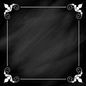 Quadro decorativo branco sobre fundo negro