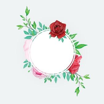 Quadro floral aquarela linda