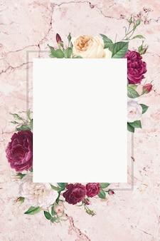 Quadro floral elegante