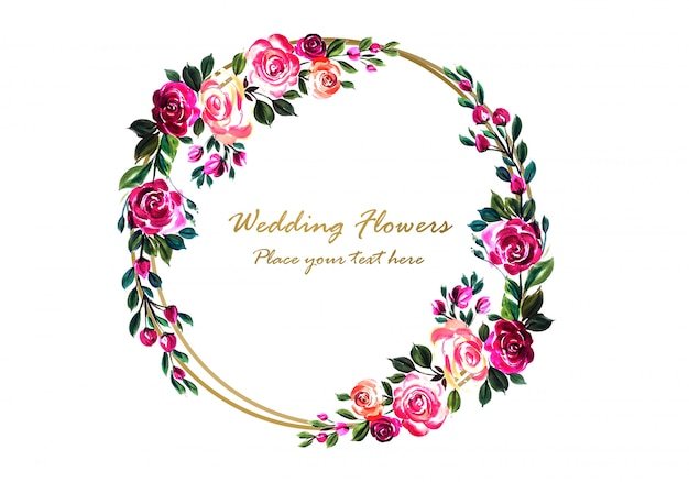Quadro floral lindo casamento decorativo colorido