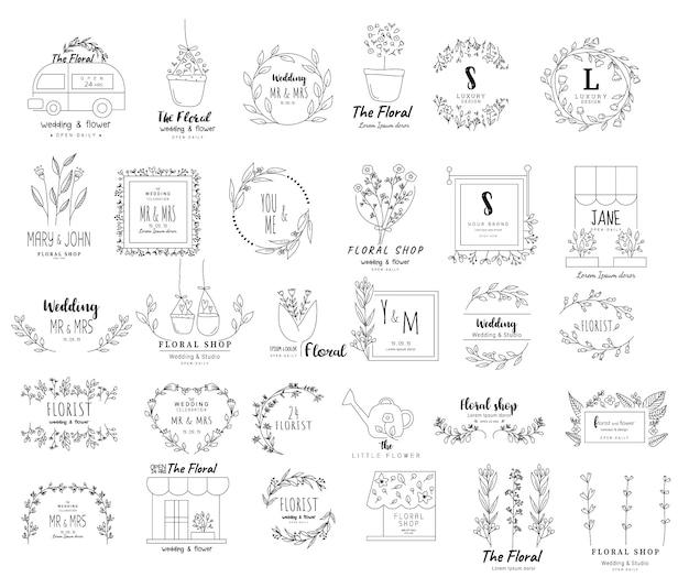 Quadro floral para casamento