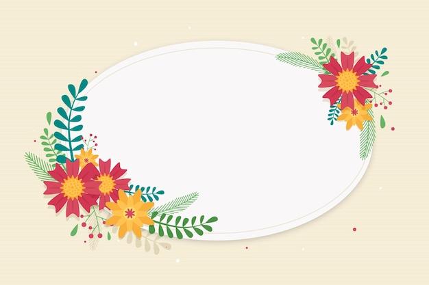 Quadro floral primavera design plano