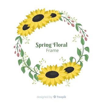Quadro floral primavera