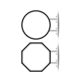 Quadro indicador para marca da loja, quadro indicador suspenso