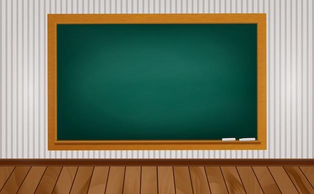 Quadro-negro na escola