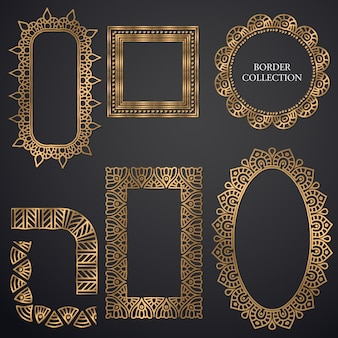 Quadro ornamental art-deco