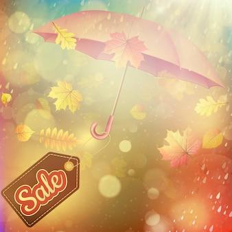 Quadro outonal em forma de folha caída grande venda.