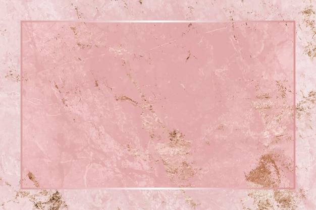 Quadro retângulo em fundo abstrato