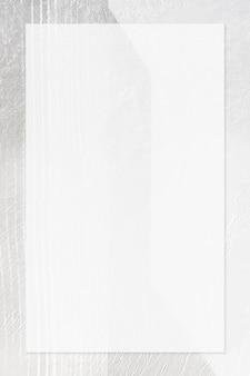 Quadro retângulo em um plano de fundo texturizado
