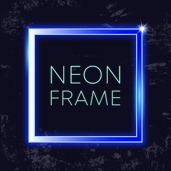 Quadro vintage de néon